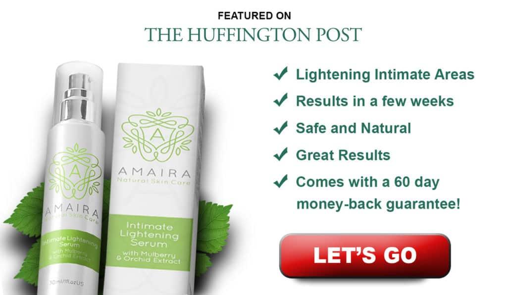 Amaira lightening serum banner